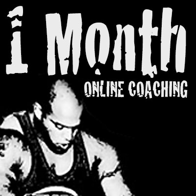 1 Month of Online Powerlifting Coaching and Training