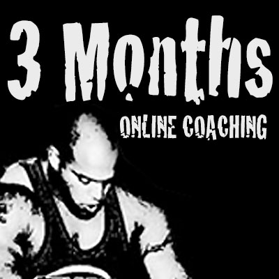 3 Months of Online Powerlifting Coaching and Training